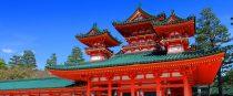 Santuario Heian en Kioto, Japón