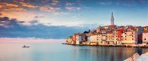 Muelle de Rovinj, Croacia