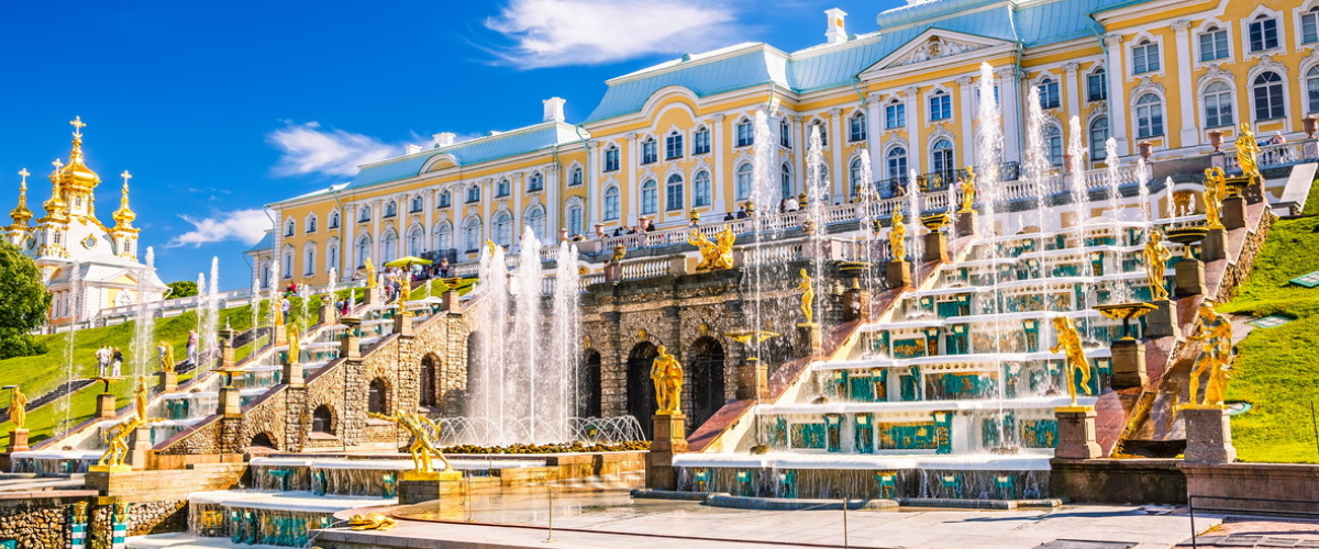 Palacio Peterhoff, San Petersburgo, Rusia