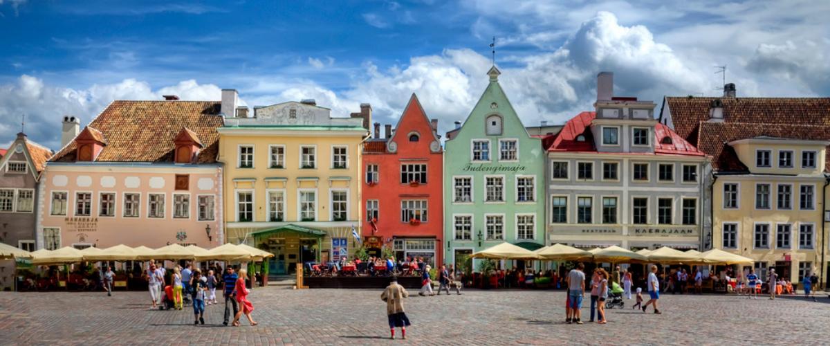 Raekoja plats, Tallinn, Estonia