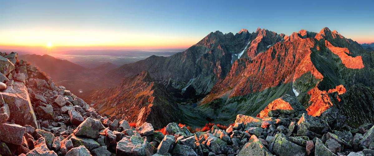 Montes Tatra Polonia